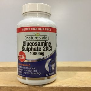 20% off Nature's Aid Glucosamine Sulphate 1000mg – 90 tabs