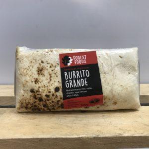Forest Foods Frozen Vegetarian Grande Wrap Burrito