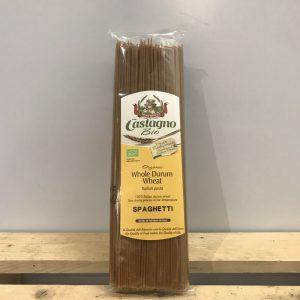 Castagno Organic Whole Wheat Spaghetti Pasta – 500g