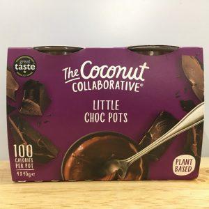 The Coconut Collaborative Little Choc Pots 4x45g