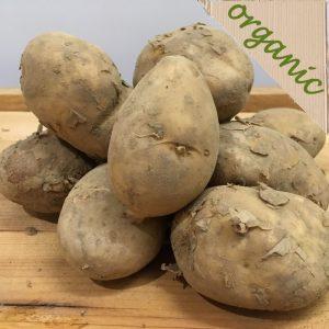 Zeds Organic Jersey Royal Potatoes – 500g UK