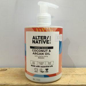 Alter/Native Hand Wash Coconut & Argan Oil – 300ml