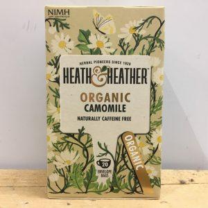 Heath & Heather Organic Camomile Tea – 20 Bags