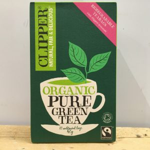 10 % OFF-Clipper Organic Pure Green Tea – 20 bags