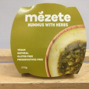 Mezete Herb Hummus – 215g