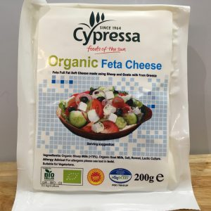 Cypressa Organic Feta Cheese – 200g