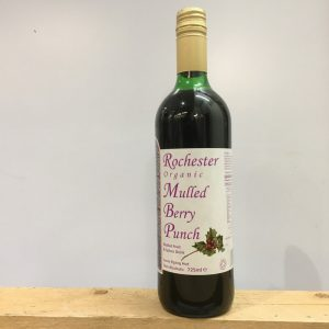 Rochester Organic Mulled Berry Punch – 725ml