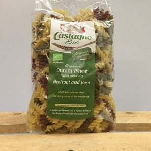 Castagno Organic Fusilli Beetroot and Basil