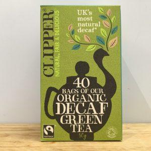 Clipper Organic Decaf Green Tea – 40 bags