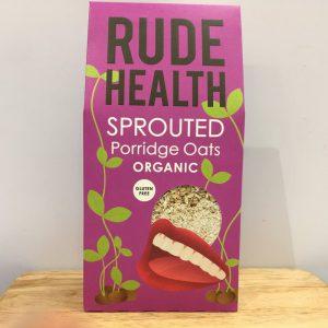 Rude Health Organic Sprouted Porridge Oats – 500g