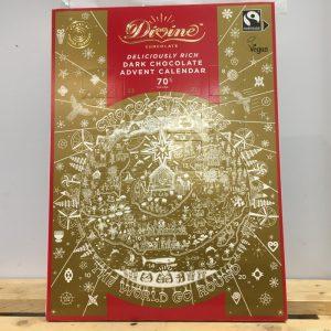 Divine Advent Calendar-Dark Chocolate 70% Cocoa