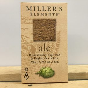 Miller's Ale Crackers – 100g