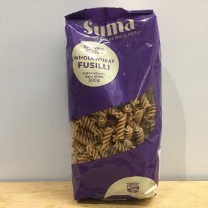 Suma Organic Wholewheat Fusilli – 500g