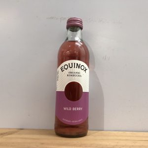 Equinox Organic Kombucha Wild Berry – 250ml