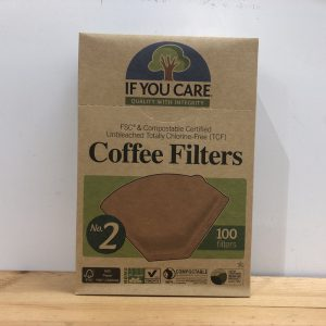 If you Care Coffee Filter No. 2 – 100 filters