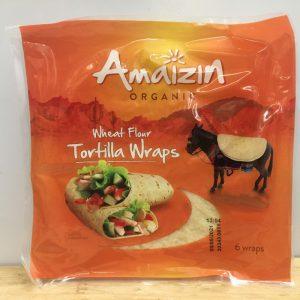 Amaizin Organic Tortilla Wraps