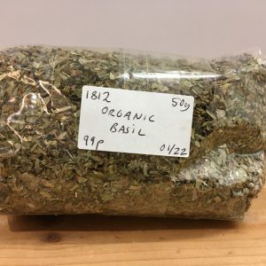 Zeds Organic Dried Basil – 50g