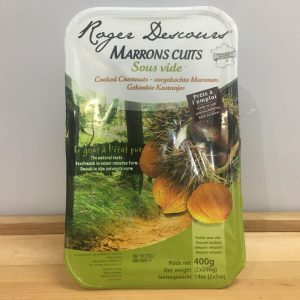 Marrons Cuit Cooked Chestnuts – 400g