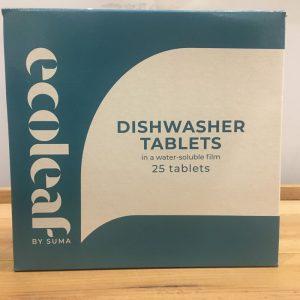 EcoLeaf Dishwasher Tablets – 25 Pack