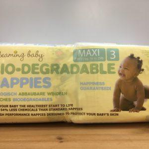 Beaming Baby Bio-Degradable Nappies Maxi 3
