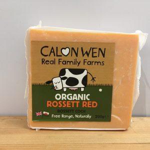 Calon Wen Organic Rossett Red Cheese – 200g