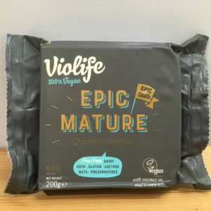 Violife Vegan Epic Mature Cheddar Cheese – 200g