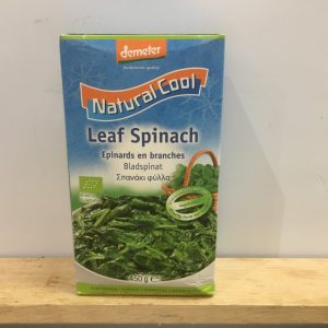 Natural Cool Frozen Spinach – 450g