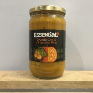 Essential Organic Lentil & Pumpkin Soup