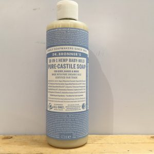 Dr Bronner Baby Mild Pure Castile Soap – 473ml