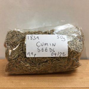 Zeds Cumin Seeds – 50g
