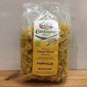 Castagno Durum Wheat Farfalle – 500g