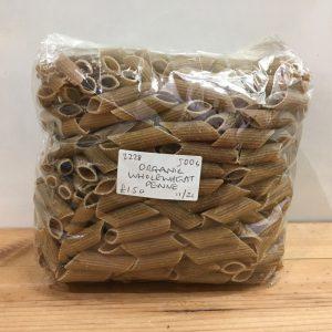 Zeds Organic Wholewheat Penne Pasta – 500g