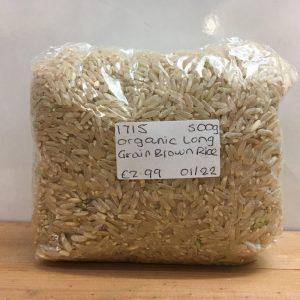 Zeds Organic (Italy) Long Grain Brown Rice – 500g