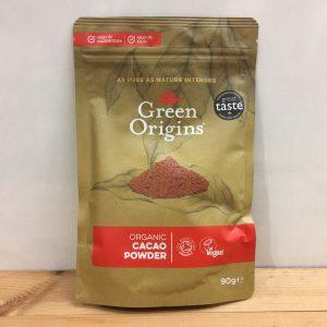 Green Origins Cacao Powder – 90g