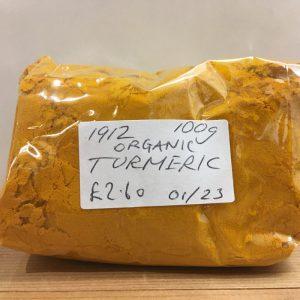 Zeds Organic Large Ground Turmeric – 100g