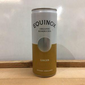 Equinox Organic Kombucha Ginger – 250ml