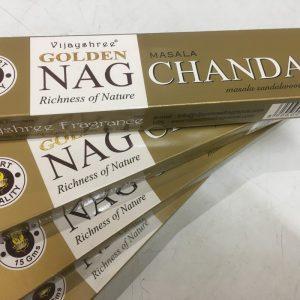 Ancient Wisdom Golden Nag Champa Sandalwood