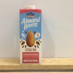 Blue Diamond Almond Unsweetened Milk – 1l