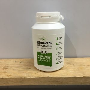 Bragg's Activated Charcoal Tablets – 100 Capsules